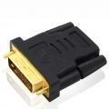 HDMI Female to DVI 24+1 Male Gender Changer Adapter Converter
