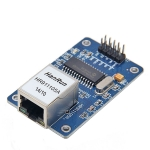 ENC28J60 Ethernet Module LAN Network Schematic for Arduino