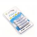 PALO 1.2V 4 pcs x AAA 1100mAh Ni-MH Rechargeable Battery