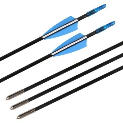 12pcs Fiberglass 6mm Arrow Sharp Tips Archery