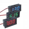 Digital Panel Mount Volt Meter DC 4.50 - 30.0V for Arduino Display