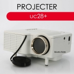 UNIC UC28+ Mini LED Portable Projector AV VGA SD USB Slot