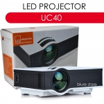 UNIC UC40 LED Projector 800 Lumens 130' Super Bright