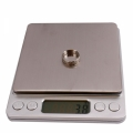 Mini Digital Stainless Steel Weighting Scale 2Kg x 0.1