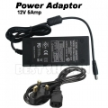 12V 5A DC Power Adapter Stable CCTV Camera Power Supply