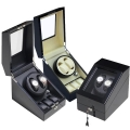 Plano Gloss Auto Watch Winder Rotate Display Storage Box (2+3)