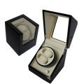 Plano Gloss Auto Watch Winder Rotate Display Storage Box (2+0)