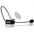 FM Wireless Microphone Headset Megaphone Radio Mic Loudspeaker