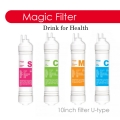 "Magic Water Filter Replacement Cartridge 10"" Inch - U type"