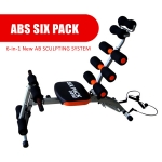 Gym AB Six Pack Exercise Chair Bench fitness equipment (Black Color)