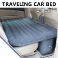 Inflatable Portable Car Air Bed Mattress Pillow Travel (with wall)