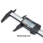 Digital Caliper Vernier LCD 150mm (0.1m) Carbon Fiber