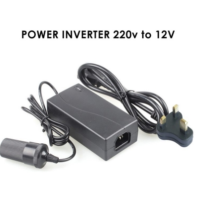 Car Cigarette Lighter Power Converter Adapter Inverter Car to Home