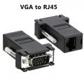 VGA to RJ45 LAN Cat5e Cat6 Network Cable Video Extender MALE