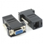 VGA to RJ45 LAN Cat5e Cat6 Network Cable Video Extender FEMALE