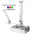 NB T817-60 Universal Projector Ceiling Mount 360 Swivel Tilt