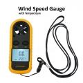 Digital LCD Smart Anemometer For Wind Speed Gauge Meter Temperature
