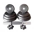 Rubber Black Dumbbell Fitness GYM Dumbell