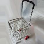 4 Wheel High Quality Foldable Shopping Grocery Trolley Cart PU