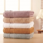 100% Cotton Bath Towel Soft Absorbent for Home Hotel Towels 650g