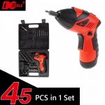 DCTOOLS S023 Transformable Electric Screwdriver Drill Tools 45Pc in 1
