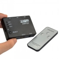 HDMI Switch Switcher with Remote Control 1080p 3 In 1 Out (2110)