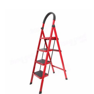 3 / 4 Wide Steps Lightweight Folding Ladder With Hand Grip