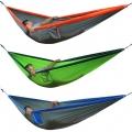 Portable Outdoor Traveling Camping Parachute Nylon Fabric Hammock