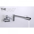 Wall Mounted Water Tap Faucet Swing Spout (2322)