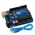 Arduino UNO Compatible R3 (Free USB Cable)