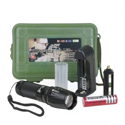 UltraFire XML C8 T6 5 Torch Light LED Flashlight Torchlight with box