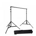 Portable Backdrop Photo Shoot Studio 2M x 2M Adjustable Stand