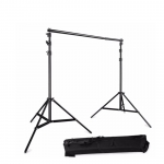 Portable Backdrop Photo Shoot Studio 2M x 2M Adjustable Stand