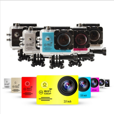 SJ7000 Action Camera 2-inch LCD Wifi Waterproof Sports Camera